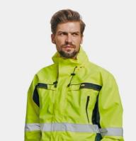 Pracovní oděvy vysoká viditelnost pro cestáře