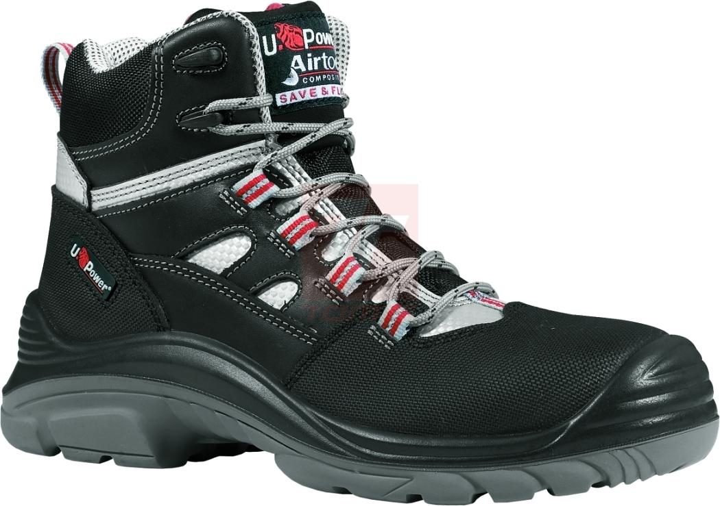 f10eb9b9d9c K vhodné obuvi z této kategorie patří U-POWER CROSS S3 – jedná se o  kotníkové boty s kompozitní tužinkou