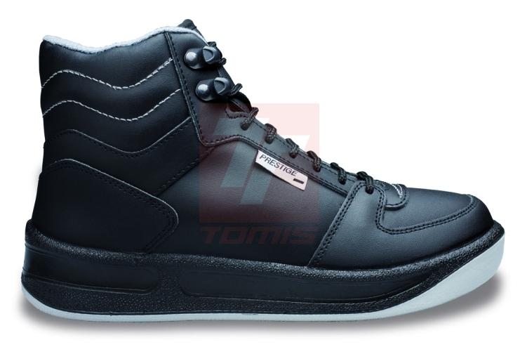 43f74a69f34 Zajímavou možností v této kategorii je zimní pracovní obuv tradiční české  značky PRESTIGE – její zimní model je vyrobený z kvalitní usně s  polyuretanovou ...