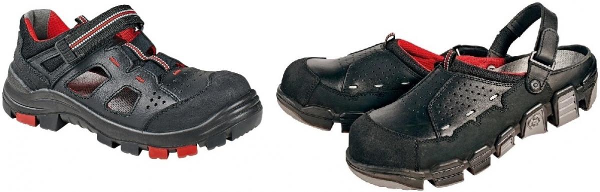 d812f95f1b0 Dobrou volbou jsou např. pracovní sandály HENFORD