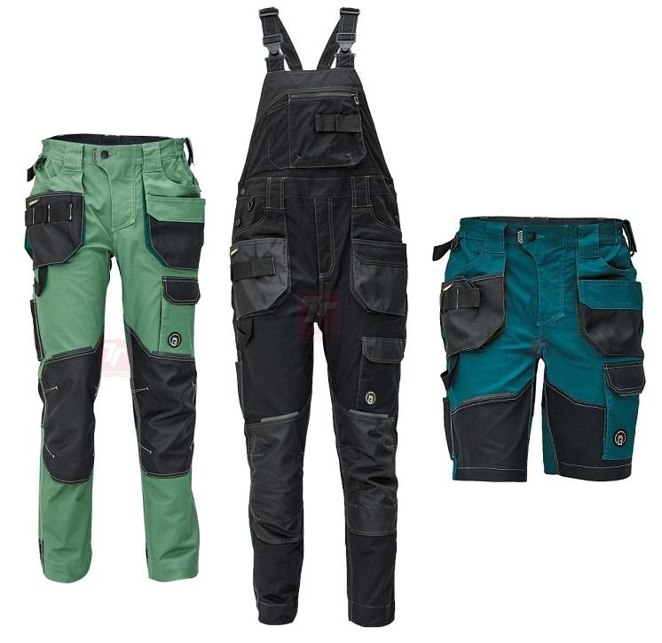 Užívejte si svobodu pohybu v pracovních oděvech z materiálu TRIFIBETEX