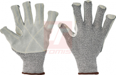 Dřevorubecké a lesnické oblečení - pracovní rukavice CROPPER STRONG - 1339