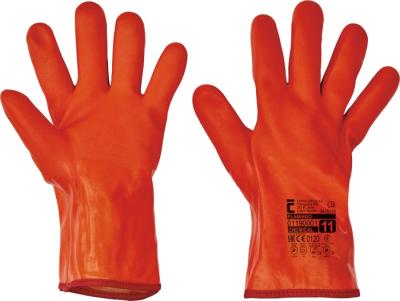 Zimní pracovní rukavice - pracovní rukavice FLAMINGO - 1066