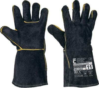 Oděvy pro hasiče - pracovní rukavice SANDPIPER BLACK - 1027
