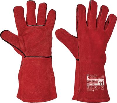 Pracovní oděvy pro svářeče - pracovní rukavice SANDPIPER RED vel. 11 - 1216