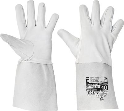 Tepelně odolné pracovní rukavice - pracovní rukavice SANDERLING WELDER vel. 8, 10 - 1637