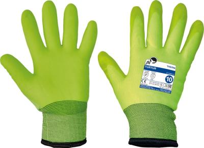 Zimní pracovní rukavice - pracovní rukavice TURTUR - 1327