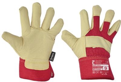 Zimní pracovní rukavice - pracovní rukavice ROSE FINCH - 1149
