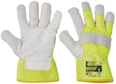 Zimní pracovní rukavice - pracovní rukavice CURLEW WINTER žlutá - 1390
