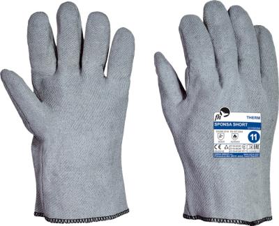Tepelně odolné pracovní rukavice - pracovní rukavice SPONSA SHORT - 1688