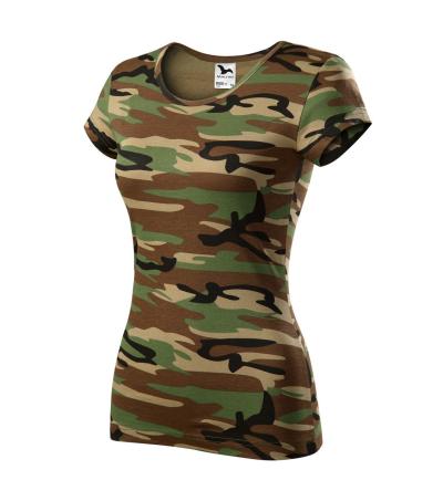 tričko CAMO PURE dámské - O204144