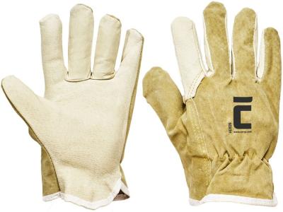 Pracovní rukavice celokožené HERON vel.9 - 1014