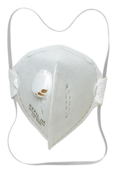 Covid - respirátor REFIL 711NB FFP1 NR D s ventilkem - P400675