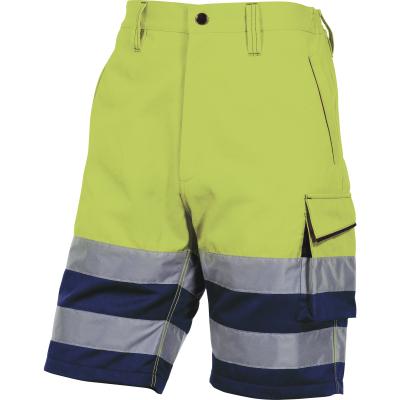 Reflexní pracovní oděvy pro cestáře - pracovní kraťasy reflexní - O200712
