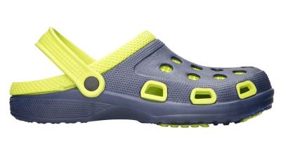 Pracovní galoše a pantofle - kroksy MARINE navy-zelená - B301013