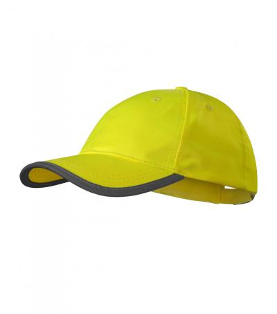 Pracovní oděvy - čepice HV REFLEX 3V5 žlutá -  O203370