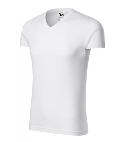 Pracovní trička - Pánské tričko SLIM FIT V-NECK - O204327
