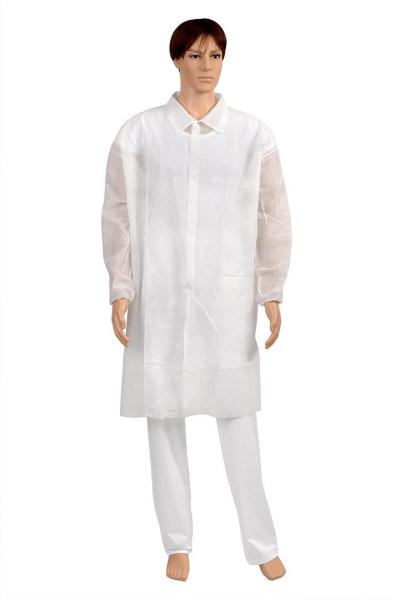 Jednorázové oděvy - Jednorázový plášť BLOUSPO 40 - O204366