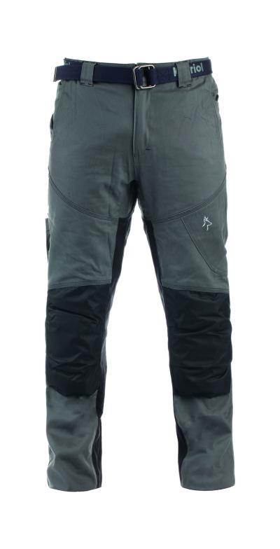Outdoorové kalhoty - pracovní kalhoty pas KAPRIOL NIGER šedo/černé - O202718