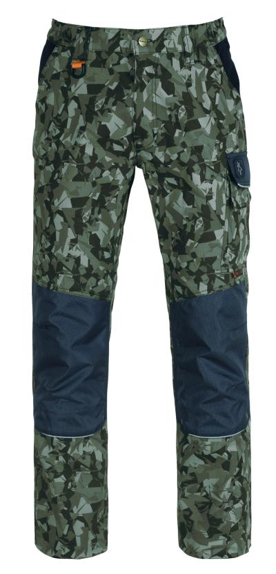 pracovní kalhoty pas KAPRIOL TENERE PRO camouflage - O202716