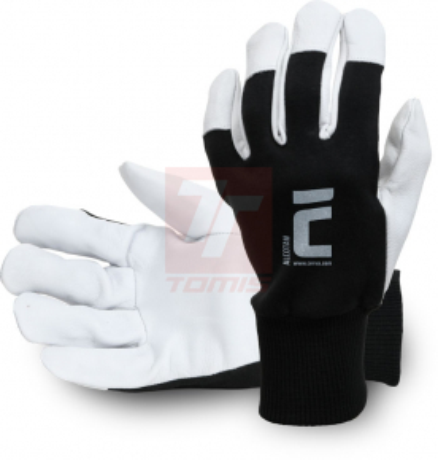 Kožené pracovní rukavice - Pracovní rukavice ALCOTAN - R100248