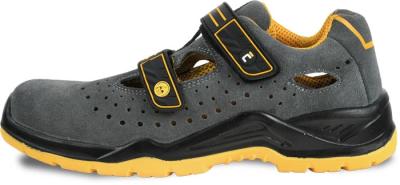 Pracovní obuv ESD - Pracovní sandál YUWILL MF ESD S1P šedá - B301198