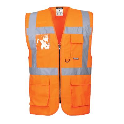 Reflexní pracovní oděvy pro cestáře - Pracovní vesta reflexní manažerská Berlin - 2527