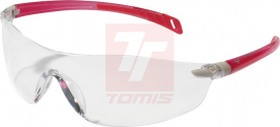 Ochranné pracovní brýle - Ochranné brýle SEEMA čiré růžový rám. - P401118