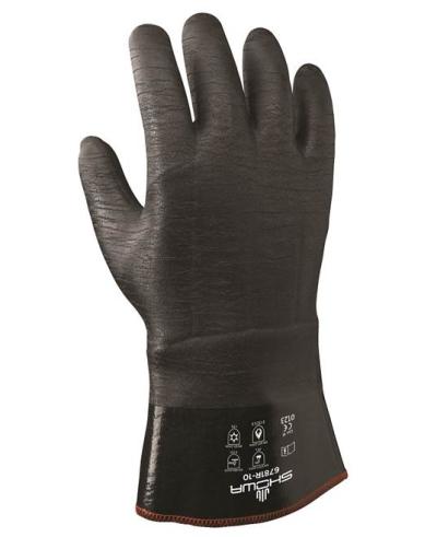Tepelně odolné pracovní rukavice - Pracovní rukavice BEST 6781R INSULATED - 1725
