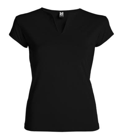 Dámské pracovní oděvy - Dámské tričko BELICE  černé  3XL- O204634