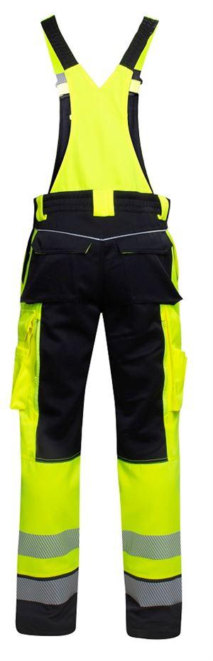 Pracovní kalhoty lacl SIGNAL žluto-černé - O204702