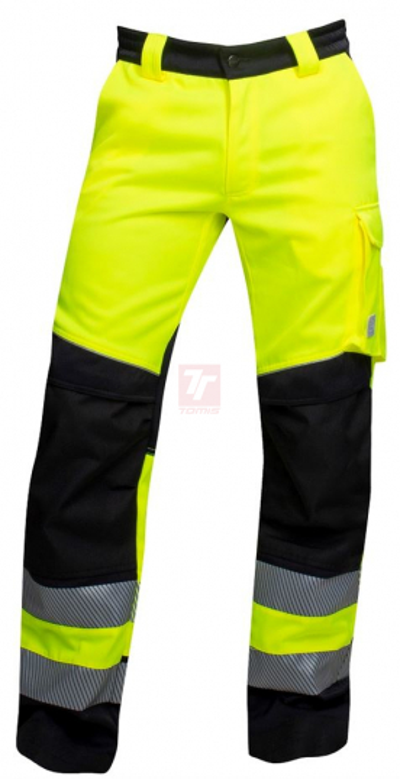 Montérkové kolekce - Pracovní kalhoty pas SIGNAL žluto-černé - O204697