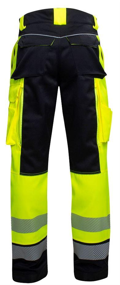 Pracovní kalhoty pas SIGNAL žluto-černé - O204697
