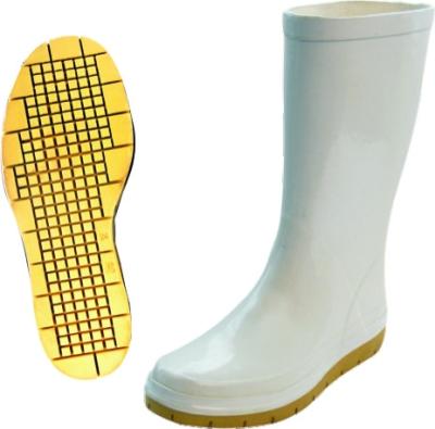 Dámské pracovní oděvy - Pracovní holínky protiskluzové dámské NOVESTA bílé - B300352