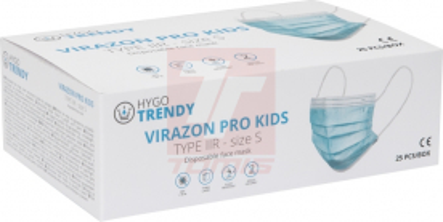 rouška 3vrstvá IR VIRAZON PRO KIDS (bal.25 ks) - P401239