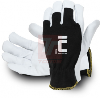 Bavlněné pracovní rukavice - Pracovní rukavice GARZA - R100273