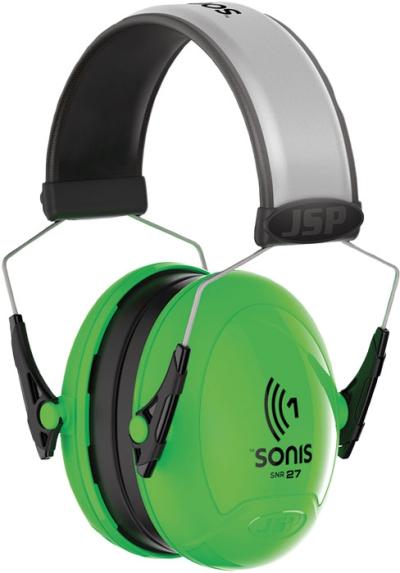 Ochrana sluchu - Mušlový chránič sluchu JSP SONIS 1  27dB - P401100