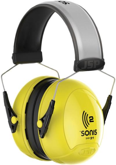 Ochrana sluchu - Mušlový chránič sluchu JSP SONIS 2  31dB - P401101