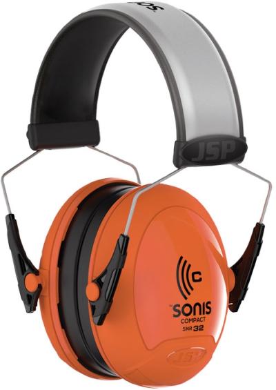 Ochrana sluchu - Mušlový chránič sluchu JSP SONIS Compact  32dB - P401102