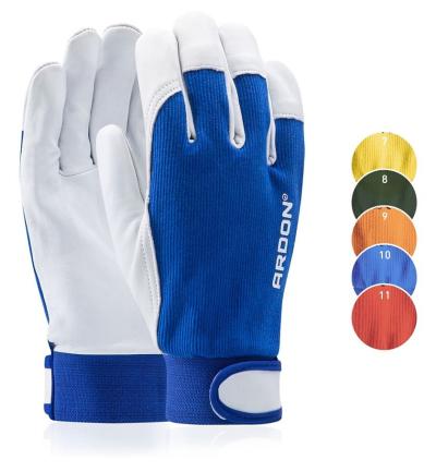Bavlněné pracovní rukavice - Pracovní rukavice na stojan HOBBY (BPE) - R100211