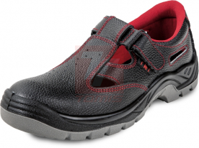 Ochranné pomůcky, oděvy a obuv pro řemeslníky - Pracovní sandál FF BONN SC-01-001 S1 - 3942