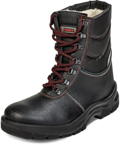 Zateplená zimní pracovní obuv - Pracovní poloholeň STRONG DUCATO S3 CI SRC - 3019