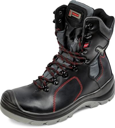Zateplená zimní pracovní obuv - Pracovní poloholeň TOP CLASSIC STRALIS S3 CI SRC - 3139