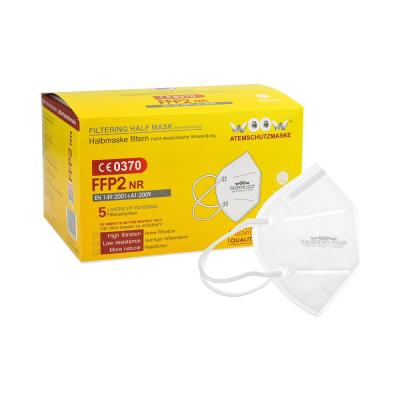 Ochrana dechu třídy FFP2 - Respirátor FFP2 NR WOOW - P401225