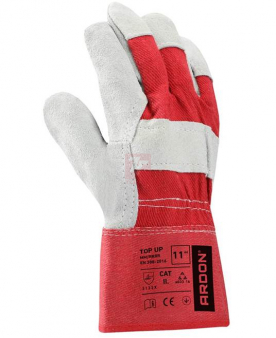 Bavlněné pracovní rukavice - Pracovní rukavice TOP UP vel.12 - R100308