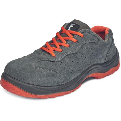 Pracovní obuv - Pracovní polobotka MONTROSE ORANGE ESD S1P SRC - B300993