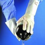 Gumové rukavice - pracovní rukavice BARRIER A02-100 - 1472