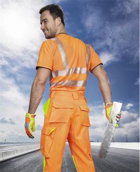 Reflexní oděvy - Reflexní kalhoty ARDON®SIGNAL oranžové prodloužené  - O204156