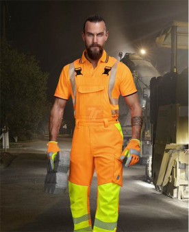 Reflexní oděvy - Reflexní kalhoty s laclem ARDON®SIGNAL oranžové zkrácené  - O204159