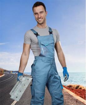 SUMMER - Kalhoty s laclem ARDON®SUMMER šedé prodloužené  - O204138